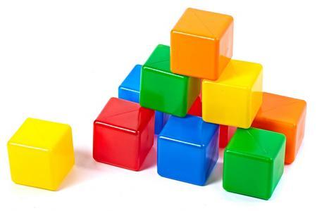 Кубики Строим вместе № 2 10 шт 5253