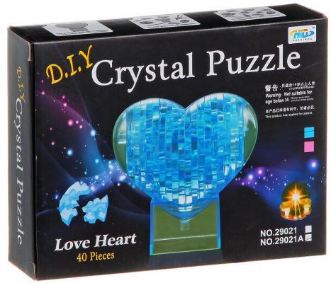 Пазл 3D Shantou Gepai Сердце 40 элементов 29021A