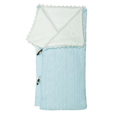 Конверт-одеяло Сонный Гномик Малышок (голубой)
