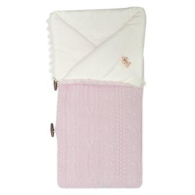 Конверт-одеяло Сонный Гномик Малышок (розовый)