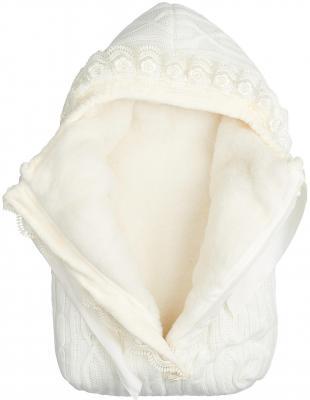 Конверт с 1 молнией Сонный Гномик Зимняя Радость (молочный)