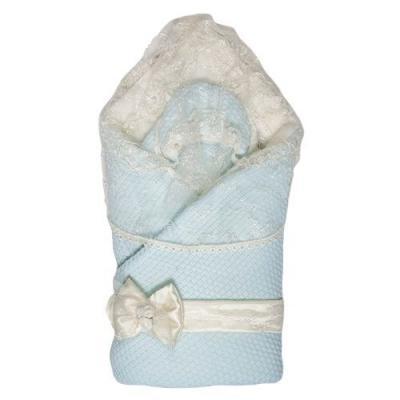 Конверт-одеяло Сонный Гномик Жемчужина (голубой)