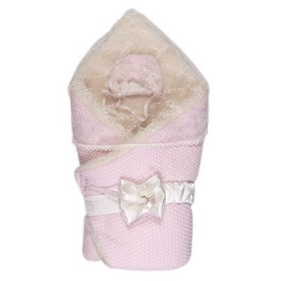 Конверт-одеяло с мехом Сонный Гномик Жемчужина (розовый) сонный гномик конверт одеяло на выписку жемчужина с мехом розовый