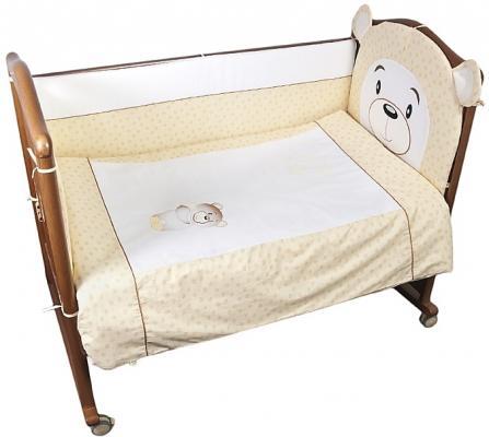Комплект в кроватку 3 предмета Сонный Гномик Умка (бежевый) цена