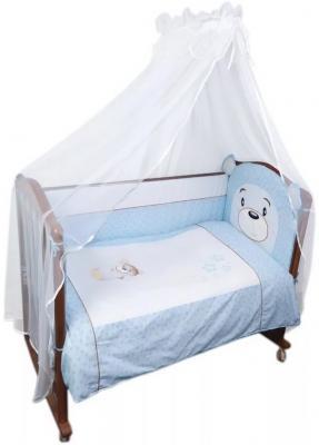 Комплект в кроватку 3 предмета Сонный Гномик Умка (голубой) цена