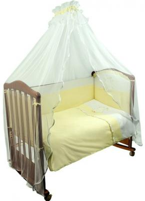 Комплект в кроватку 3 предмета Сонный Гномик Пушистик (салатовый) цена