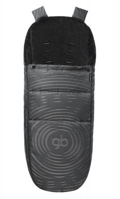 Накидка на ножки в коляску GB Maris (plus lux black)