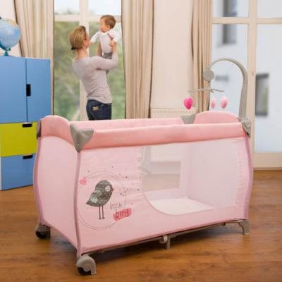 Манеж Hauck Baby Center (birdie grey)