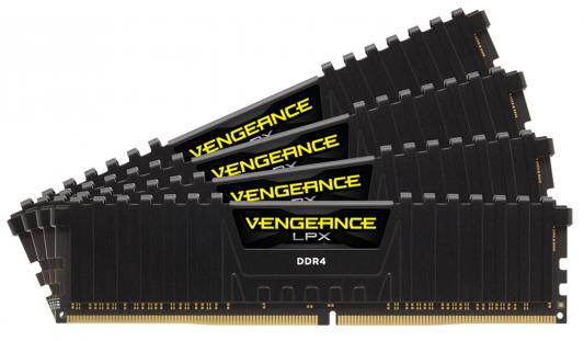 Оперативная память 32Gb (4x8Gb) PC4-25600 3000MHz DDR4 DIMM Corsair CMK32GX4M4C3000C15 оперативная память 128gb 8x16gb pc4 24000 3000mhz ddr4 dimm corsair cmr128gx4m8c3000c16w