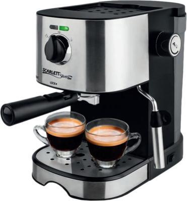 Кофеварка Scarlett SL-CM53001 черный серебристый соковыжималка scarlett sl je51s02 серебристый