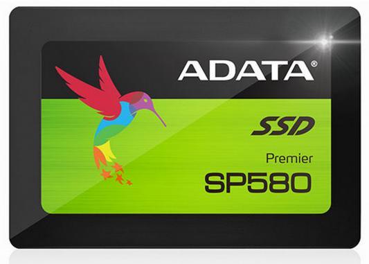 Твердотельный накопитель SSD 2.5 240GB A-Data SP580 Read 560Mb/s Write 420Mb/s SATAIII ASP580SS3-240GM-C