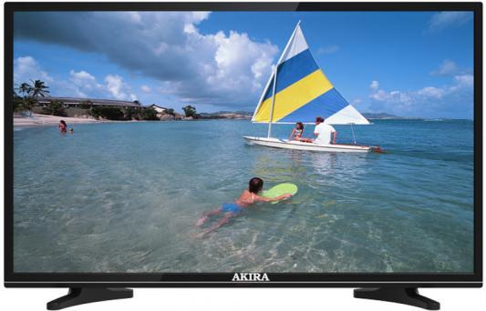 Телевизор Akira 39LED01T2M черный
