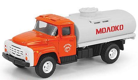 Интерактивная игрушка Play Smart грузовик(молоко) от 3 лет бело-оранжевый интерактивная игрушка для девочки just play собачка кэнди и ее щенки от 3 лет 42108