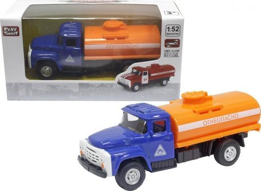 Интерактивная игрушка Play Smart Грузовик(огнеопасно) от 3 лет красный, 16 см, металл, для мальчика, Интерактивные игрушки  - купить со скидкой