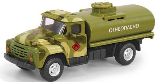 Купить Интерактивная игрушка Play Smart грузовик(огнеопасно)-военный от 3 лет хаки, Интерактивные игрушки