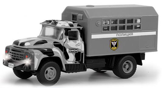 Купить Интерактивная игрушка Play Smart грузовик(ОМОН) от 3 лет серый, Интерактивные игрушки