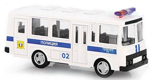 Интерактивная игрушка Play Smart автобус(полиция) от 3 лет белый