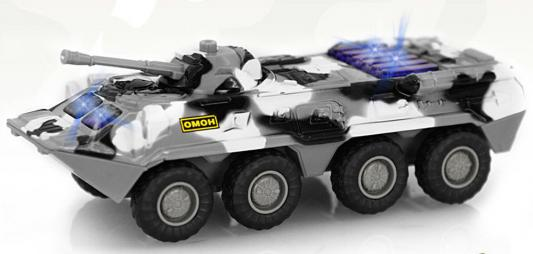 """Интерактивная игрушка Play Smart """"Автопарк"""" - БТР-80 от 3 лет хаки play smart 2х41 1x6 3 см"""