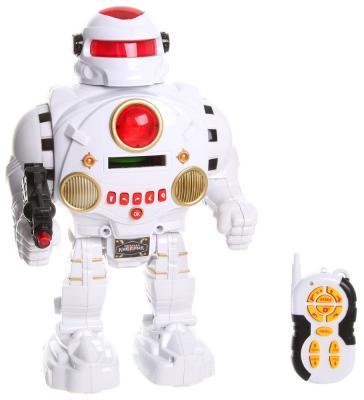 """Робот радиоуправляемый Shantou Gepai """"Защитник планеты"""" 31 см на радиоуправлении со звуком светящийся двигающийся танцующий стреляющий"""