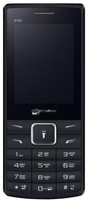 """Мобильный телефон Micromax X705 черный 2.4"""" 32 Мб"""