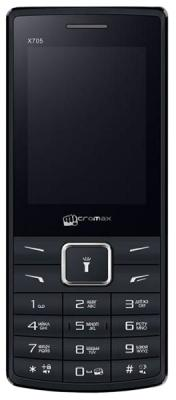 Мобильный телефон Micromax X705 черный мобильный телефон micromax x406
