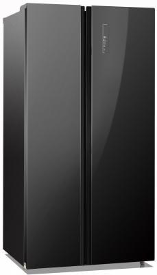 Холодильник Side by Side DON R R-584 BG черный холодильник side by side samsung rs552nrua9m