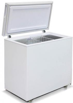 Морозильный ларь Бирюса 210K белый