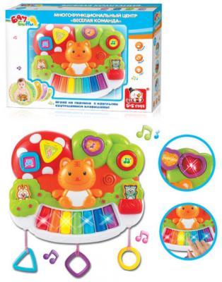 Пианино S+S TOYS Многофункциональный центр Bambini Веселая команда - Котик автотрек s s toys bambini мой первый автопаркинг сс76745