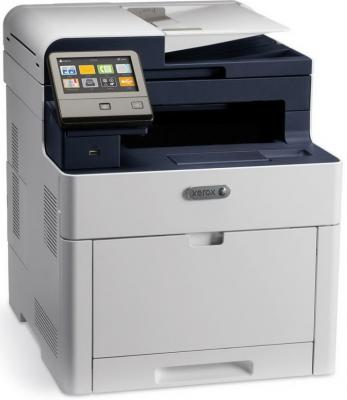 МФУ Xerox WorkCentre 6515V_DNI цветное A4 28ppm 600x600dpi Ethernet USB Wi-Fi принтер canon i sensys lbp653cdw цветной a4 27ppm 600x600dpi usb ethernet wi fi 1476c006