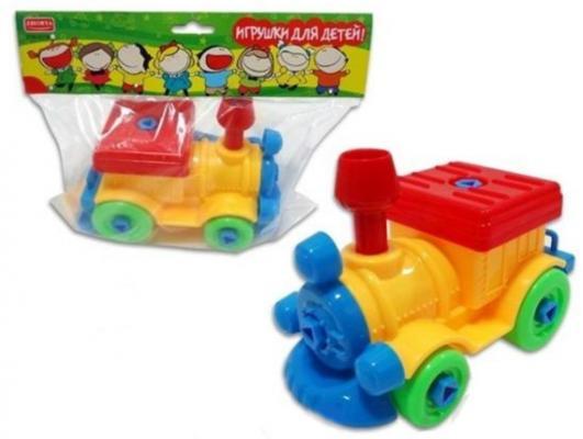 Купить Конструктор Zhorya Игрушки для детей! - Поезд, Пластмассовые конструкторы