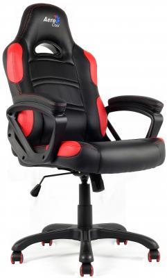 Кресло компьютерное игровое Aerocool AC80C-BR черно-красный 4710700955048