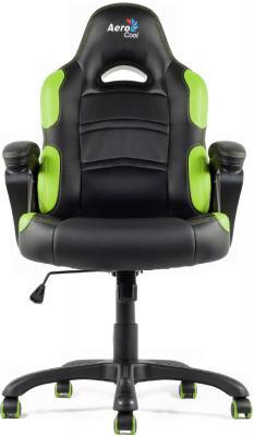 Кресло Aerocool AC80C-BG черно-зеленый 4710700955079