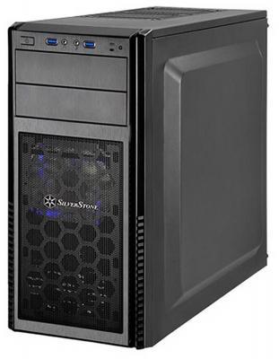 Корпус ATX SilverStone Precision SST-PS11B-W Без БП чёрный корпус atx silverstone precision ps11b q без бп чёрный