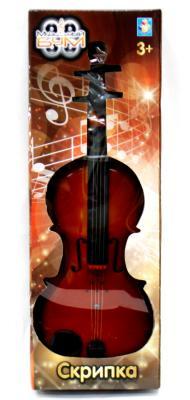 Скрипка 1toy Музыкальный БУМ