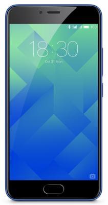 Смартфон Meizu M5 синий 5.2 32 Гб LTE Wi-Fi GPS 3G M611H-32-BLUE смартфон zte blade v8 золотистый 5 2 32 гб lte wi fi gps 3g bladev8gold