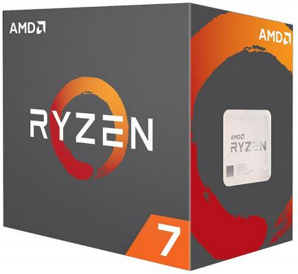 Процессор AMD Ryzen 7 1800X YD180XBCAEWOF Socket AM4 BOX без кулера процессор amd ryzen 7 1700x yd170xbcaewof socket am4 box без кулера