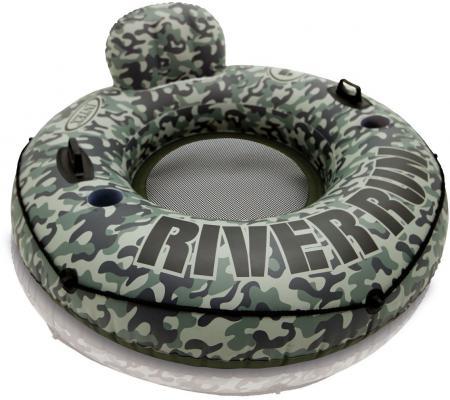Надувной круг INTEX River камуфляж 58835