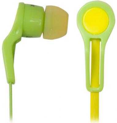 Наушники Ritmix RH-014 желто-зеленый