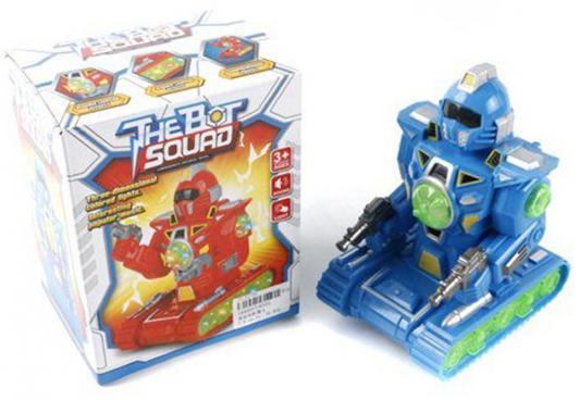 Робот электронный Shantou Gepai The Bot Squad светящийся со звуком ассортимент 8333 боевой робот shantou gepai воин галактики 30 см двигающийся со звуком светящийся 6007