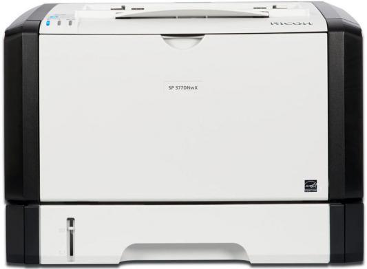 Купить со скидкой Принтер Ricoh SP 377DNwX черно-белый A4 28ppm 1200x1200dpi RJ-45 Wi-Fi USB 408152