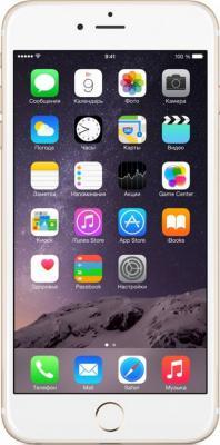"""Смартфон Apple iPhone 6 Plus """"Как новый"""" золотистый 5.5"""" 16 Гб NFC LTE Wi-Fi GPS 3G FGAA2RU/A"""
