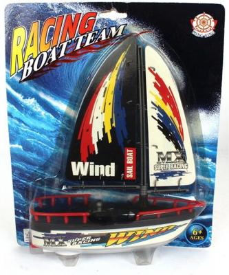 Катер Shantou Gepai Racing Boat Team 21 см 589 feilun ft012 upgraded ft009 2 4g brushless rc racing boat red
