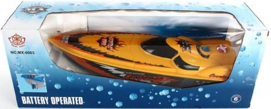 Катер Shantou Gepai Gentleman оранжевый 40 см MX-0003-26