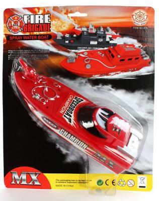 Катер Shantou Gepai Fire Brigade 23 см красный  978-9