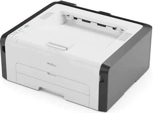 Принтер Ricoh SP 277NwX черно-белый A4 23ppm 1200x600dpi RJ-45 Wi-Fi USB 408157
