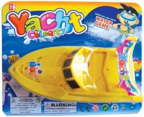 Катер Shantou Gepai Hot Yacht желтый 15 см 311-67 игрушка shantou gepai наша игрушка катер 311 83