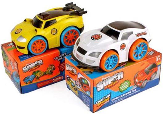 Автомобиль Shantou Gepai Super Cartoon Car в ассортименте