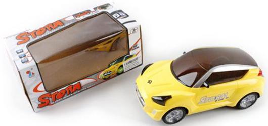 Автомобиль Shantou Gepai Storm желтый  YF3069A