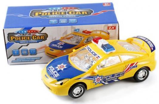 """Автомобиль Shantou Gepai """"Police Car"""" желтый свет, звук ZR105J"""