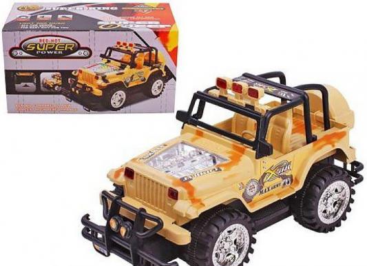 Автомобиль Shantou Gepai Джип бежевый  Y513090
